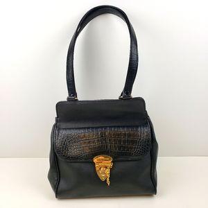 Mondani New York Black Shoulder Bag